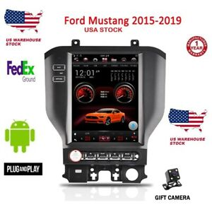 11 8 Tesla Style Car Android Gps Navi Radio 2 32gb For Ford Mustang 2015 2019