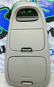 Oem Genuine Ford Overhead Console Display Gray 1997 2003 Ford F150 Rebuilt