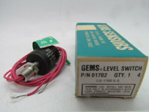 Gems Sensors 01702 Buna N Float Switch Ls 1700 Series