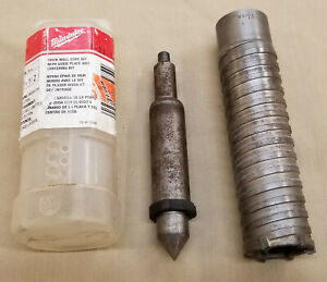 Milwaukee 1 1 2 Sds Max Core Bit W center Thick Wall Carbide Tipped 48 20 5125