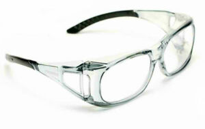 Delta Plus Ovr Spec Ii Safety shooting Glasses Over The Spectacle Clear