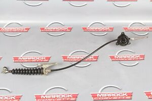 C4 Corvette Automatic Shifter Cable With Floor And Transmission Brackets 84 96