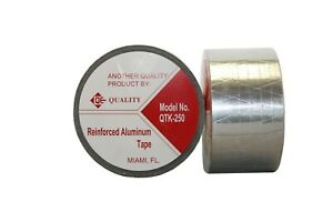 aluminum Foil Tape thickness 170 Mic 6 8 Mil 2 Inches X 50 Yards Hvac Tape