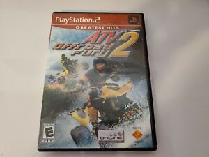 ATV Offroad Fury 2 (Sony PlayStation 2  2002) PS3 No Manual