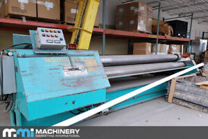 Montgomery 4r12025 Plate Bending Roll 2004