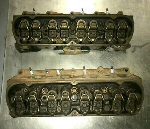 Ford 1997 Gt40p Cylinder Heads Part f77e aa 4 Bar