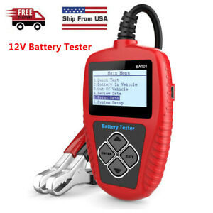 12v Automotive Load Battery Tester 100 2000cca 220ah Digital Analyzer Test Tool