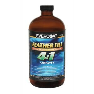 4 In 1 Polyester Primer Catalyst Quart Fibreglass Evercoat 100733