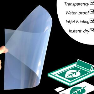 13 X 19 laser Printing Milky Transparency Film For Diy Pcb 200 Sheets