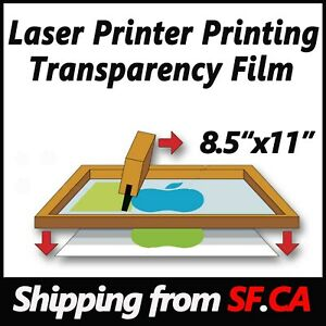8 5in X 11in laser Printing Milky Transparency Film For Diy Pcb 50 Sheets