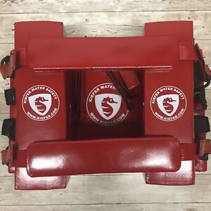 Kiefer Rescue 2 Emergency Spine Board Reusable Head Immobilizer For Ems emt Red
