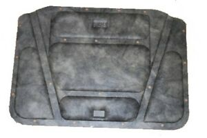 1971 1974 Gtx Rigid Fiber Molded Hood Insulation Pad W Clips 71 72 73 74