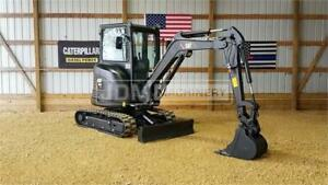 2015 Caterpillar 303e Cr Cab Heat Mini Track Crawler Excavator 303