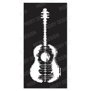 Guitar Dxf Files For Cnc Machine Laser Cut Plasma Or Router Cdr Eps Svg Ai Dxf