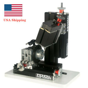 60w 12000rpm Metal Indexing Milling Machine Diy 6 Axis Drilling Milling Machine