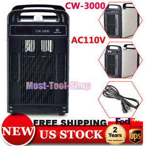 110v Cw 3000 Thermolysis Industrial Water Chiller For Cnc Laser Engraver Cutter