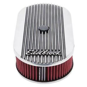 Edelbrock 4273 Elite Ii Air Cleaner Oval Single Carb