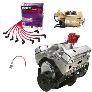 Blueprint 383 Stroker Sbc Crate Engine Package Fitech Efi 430hp