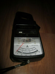 Vintage Micronta Clamp type Ac Ammeter Amp Inline Inductive Pick up