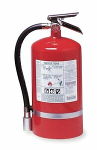 Kidde Halotron Fire Extinguisher With 15 5 Lb Capacity And 14 Sec Discharge
