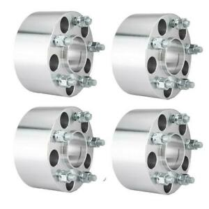 4 For Chevy Camaro Corvette S 10 Hubcentric Wheel Spacers 5x4 75 3 Inch 12x1 5