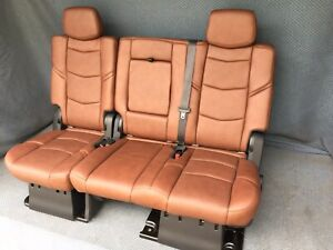 2019 2018 2017 Escalade Esv 2nd Row Bench Seat Kona Brown Leather
