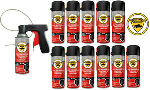 Woolwax Spray Can Undercoating Kit Black 12 Cans