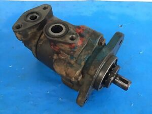 Ford 6000 Tractor Hydraulic Pump Working