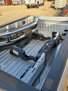 2019 Ford F350 Xlt Silver Single Wheel Pickup Bed Front And Back Bumper Hitch