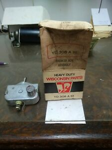 Wisconsin Engine New Old Stock Breaker Box Assembly Yd 308a s1 Free S