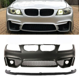 F80 M4 Style Look Front Bumper For Bmw 3 Series E90 4dr 2008 2011