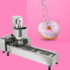 Samger 3kw Commercial Doughnut Maker Automatic Donut Making Machine 3 Size Molds
