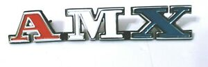 1974 Amc Javelin amx Front Grill Emblem Newly Poured Quality Metal
