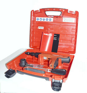 Hilti Dx2 Powder Actuated Fastening Tool Accessories Manual