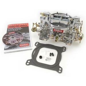 Edelbrock 1412 Performer 4 Barrel Carburetor 800 Cfm Manual Choke