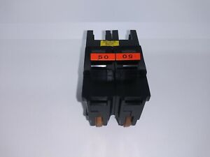 Fpe Federal Pacific Na250 50 Amp 2 Pole 120 240v Circuit Breaker Type Na Red