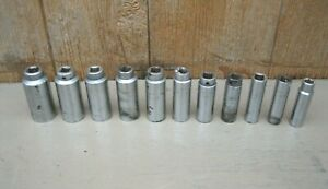 Mac Tools 1 2 Drive Sae Deep Socket Set Vd Series 1 2 1 1 8 1 2 Is Wright