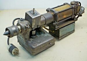 South Bend Lathe Tail Stock Assembly Modified Pneumatic electric