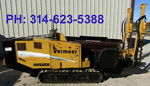 2007 Vermeer D7x11 Series Ii Directional Drill Hydraulic Bore Driller Hdd Video