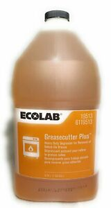 Ecolab Greasecutter Plus Heavy Duty Degreaser 1 Gallon