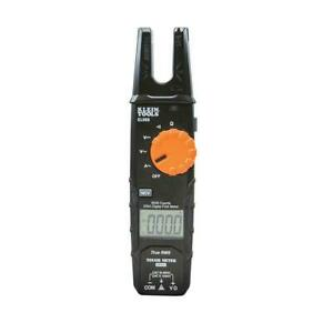 Klein Tools Open Jaw Fork Meter 200 Amp Ac Current Detect Voltage Tester Lcd New