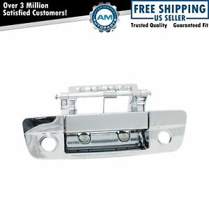 Chrome Exterior Outside Tailgate Handle Camera Hole For Ram 1500 Pickup Truck