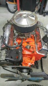 Chevy 350 Small Block Motor