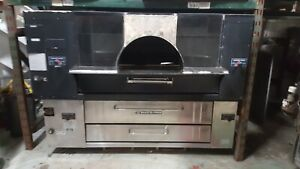 Bakers Pride Y800 Fc816 Stone Brick Pizza Oven Used Verified Operational