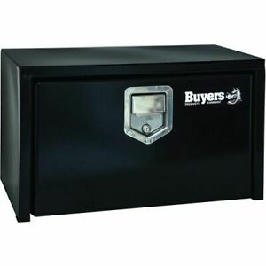 Buyers Products 1702105 Underbody Truck Box With Paddle Latch 18 X 18 X 36