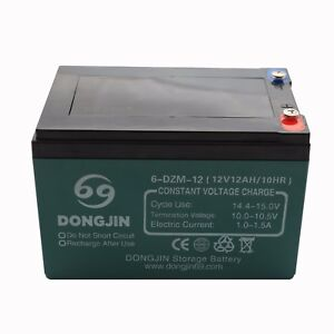 12V 6-DZM-12 6DZM12 Battery for Electric Scooter Quad Mini bike 4 wheelers ATV