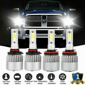 Led Headlight Combo Bulbs 9005 h11 Drl High Low Beam For Dodge Charger 2011 2014