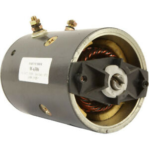 New 12 Volt Snow Plow Motor For Fisher Western Mue Mue6302 6302 10779