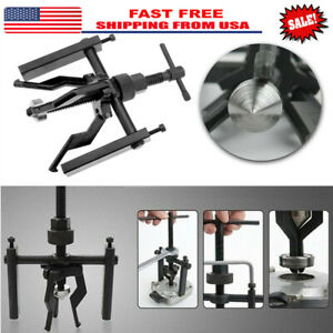 3 Jaw Pilot Bearing Puller Inner Wheel Gear Extractor Bushing Remover Tool Set