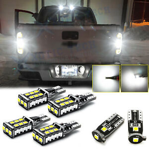 For Chevy Colorado 2015 2019 White Led Reverse License High Mount Cargo Light 6x